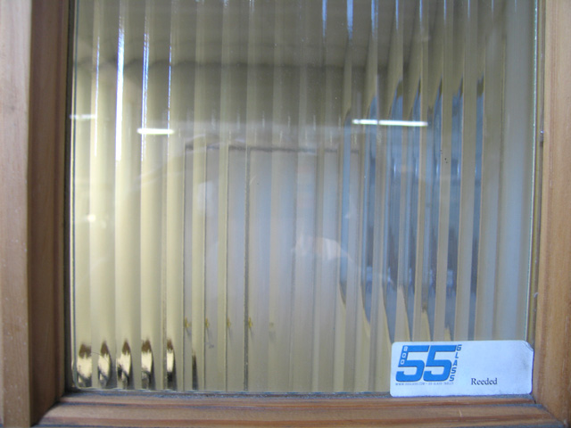 55 Glass Reeded Glass